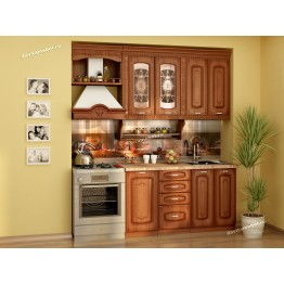 Кухонный гарнитур Глория 6 7 (ширина 200 см)