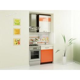 Кухонный гарнитур Оранж 1 (ширина 100 см)