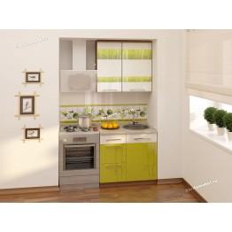 Кухонный гарнитур Тропикана 3 (ширина 140 см)