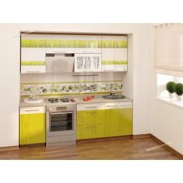 Кухонный гарнитур Тропикана 8 (ширина 230 см)