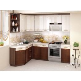 Кухонный гарнитур угловой Каролина 17 (ширина 160х240 см)