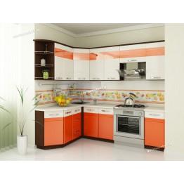 Кухонный гарнитур угловой Оранж 17 (ширина 160х240 см)