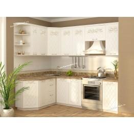 Кухонный гарнитур угловой Тиффани 17 (ширина 160х240 см)