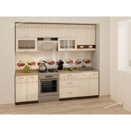 Кухонный гарнитур Аврора 11 (ширина 240 см)