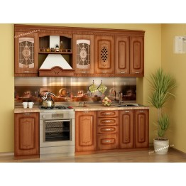 Кухонный гарнитур Глория 6 13 (ширина 240 см)