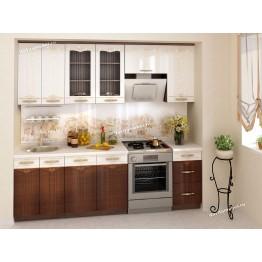 Кухонный гарнитур Каролина 12 (ширина 240 см)
