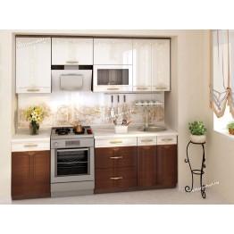 Кухонный гарнитур Каролина 8 (ширина 230 см)