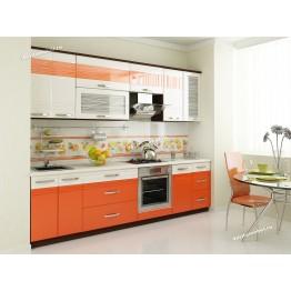 Кухонный гарнитур Оранж 20 (ширина 300 см)