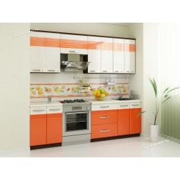 Кухонный гарнитур Оранж 9 (ширина 240 см)