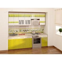 Кухонный гарнитур Тропикана 12 (ширина 240 см)