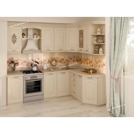 Кухонный гарнитур угловой Глория 3 16 (ширина 240х160 см)