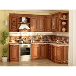 Кухонный гарнитур угловой Глория 6 16 (ширина 240х160 см)