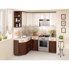 Кухонный гарнитур угловой Каролина 15 (ширина 150х200 см)
