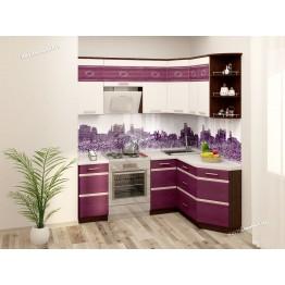 Кухонный гарнитур угловой Палермо 14 (ширина 200х150 см)