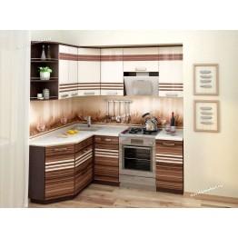 Кухонный гарнитур угловой Рио 15 (ширина 150х200 см)