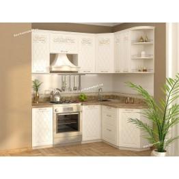 Кухонный гарнитур угловой Тиффани 14 (ширина 200х150 см)