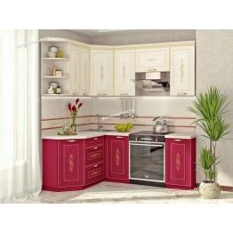 Кухонный гарнитур угловой Виктория 15 (ширина 150x200 см)