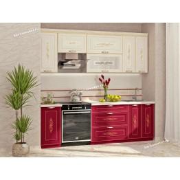 Кухонный гарнитур Виктория 10 (ширина 240 см)