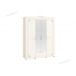 Шкаф четырехдверный с зеркалом Версаль 99.14