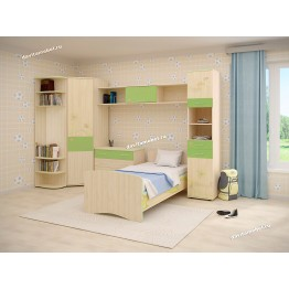 Набор мебели для детской Акварель 14