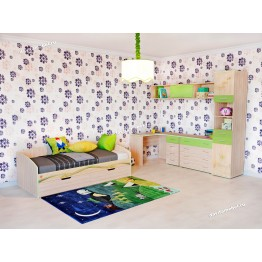 Набор мебели для детской Акварель 19