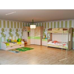 Набор мебели для детской Акварель 21