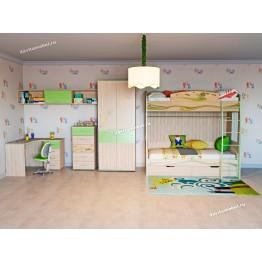 Набор мебели для детской Акварель 23