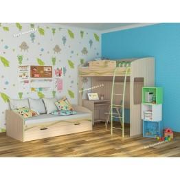 Набор мебели для детской Акварель 27