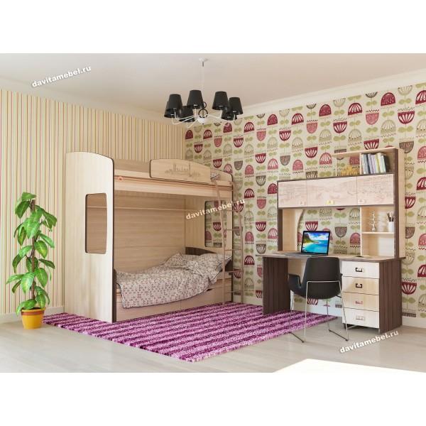 Набор мебели для детской Британия 34