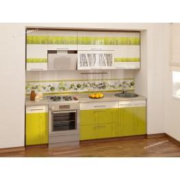 Кухонный гарнитур Тропикана 10 (ширина 240 см)