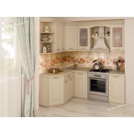 Кухонный гарнитур угловой Глория 3 15 (ширина 150х200 см)