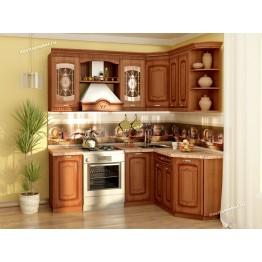 Кухонный гарнитур угловой Глория 6 14 (ширина 200х150 см)
