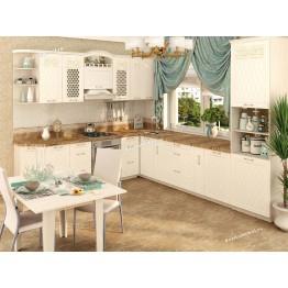 Кухонный гарнитур угловой Тиффани 18 (ширина 270x320 см)