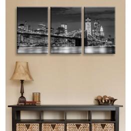 Модульные картины серии Бруклинский мост