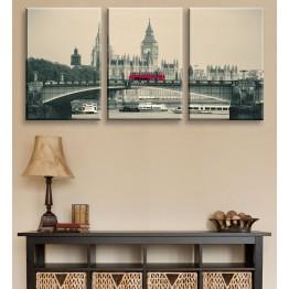 Модульные картины серии Лондон